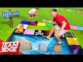 Edgeland Returns!! | Dangerous Giant Board Game!