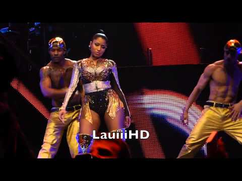 Nicki Minaj - Beez in The Trap - Live in Stockholm, Sweden 16.3.2015 Full HD