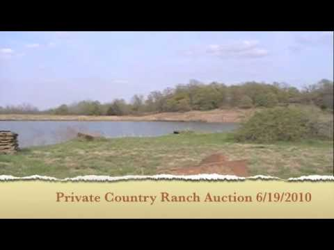 Kansas Ranch & Private Luxury Hunting Lodge for Sale at Auction June 19th, 2010