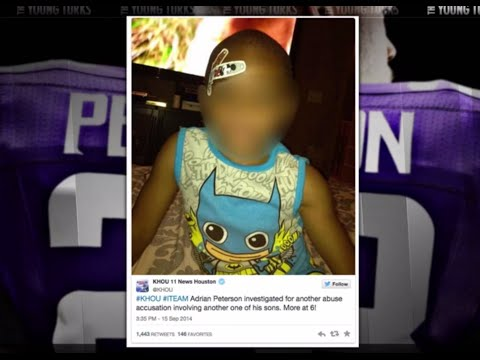More Revelations On Vikings Adrian Peterson's History As A Child Abuser video