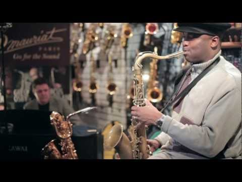 James Carter clinic in Mariachi Sax Boutique, Moscow, Russia Music Videos