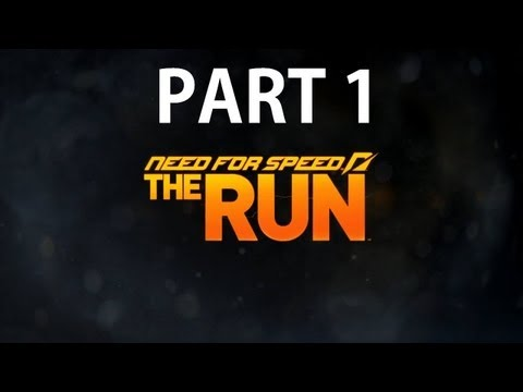Need For Speed The Run Walkthrough Part 1 [HD Gameplay] (X360/PS3)