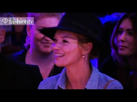 Mulberry Ft Kate Moss - Spring 2012 Runway Show & Party With Kristen Stewart | Fashiontv - Ftv video