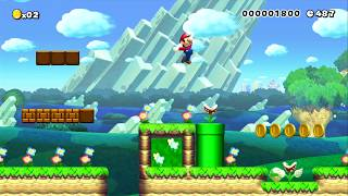 2-4 Bowser's New Wings by Marsford - SUPER MARIO MAKER - NO COMMENTARY