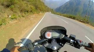 Pulsar 180 Dangerous Hill Ride | Moto HP 😀 | Himachal Roads | Best Bike For Hills