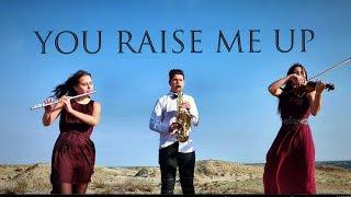 You raise me up (violin/flute/saxophone cover) - ANA'Trio
