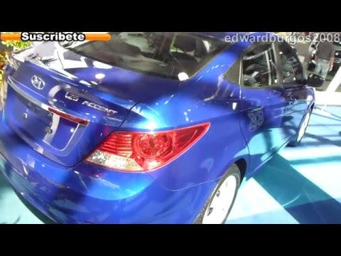 hyundai i25 accent 2013 colombia video de carros auto show medellin 2012 FULL HD