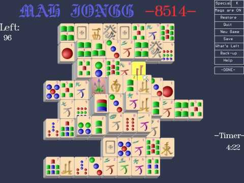 Ron Balewski - Mah Jongg 8514 - 1991