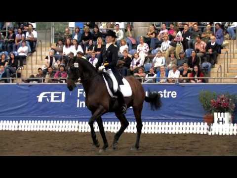 Gitte Donvig and Port Said 10 2009 Horseland Australian Championships