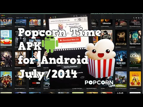 Popcorn Time on Android. Free movies and TV shows