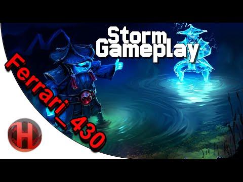 iGFerrari430 7165 MMR Storm Spirit Gameplay Dota 2