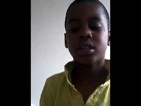 Solomon   zingt  een  liedje