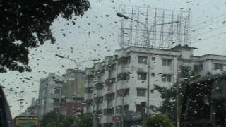 Dhaka City Travel in rani season