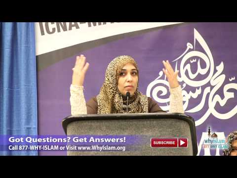 Muhammad's (p) Character and Teachings - Ustadha Yasmin Mogahed