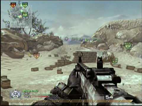 mw2-domination on afghan(SCAR-H) 69-1 Video