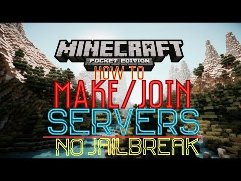 ✔️HOW TO MAKE/JOIN MCPE SERVERS USING TWO APPS | Minecraft 0.11.1-0.12.0