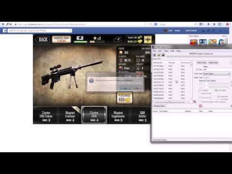 [PATCHED]How to hack Deer Hunter 2014 on Facebook![Cheat Engine]