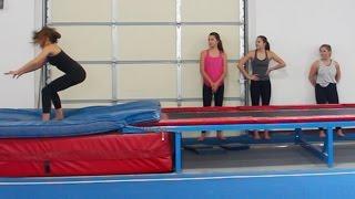Teaching My Sister Gymnastics!