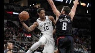 San Antonio Spurs vs Los Angeles Clippers NBA Full Highlights (14TH DECEMBER 2018-19)