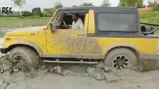 Maruti Suzuki Gypsy modified || fully customized || off road mud drive || himalayan ralley