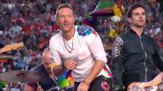 Superbowl 50 Halftime Show 2016 Coldplay Only Hq Hd Full Performance