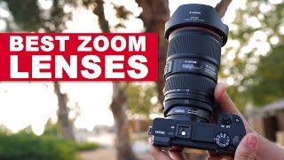 BEST Wide-Angle ZOOM Lenses for Sony a6300 - a7SII - A7RII