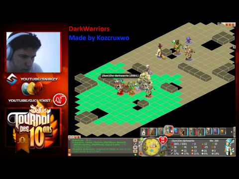 [Dofus] Tournoi des DIX ANS!  | ENORME COMBAT | Made By Krozcruxwo VS DarkWarriors
