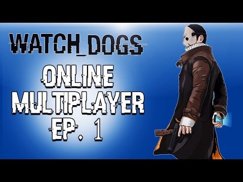 Watch Dogs Online Funny Moments (So many glitches!)