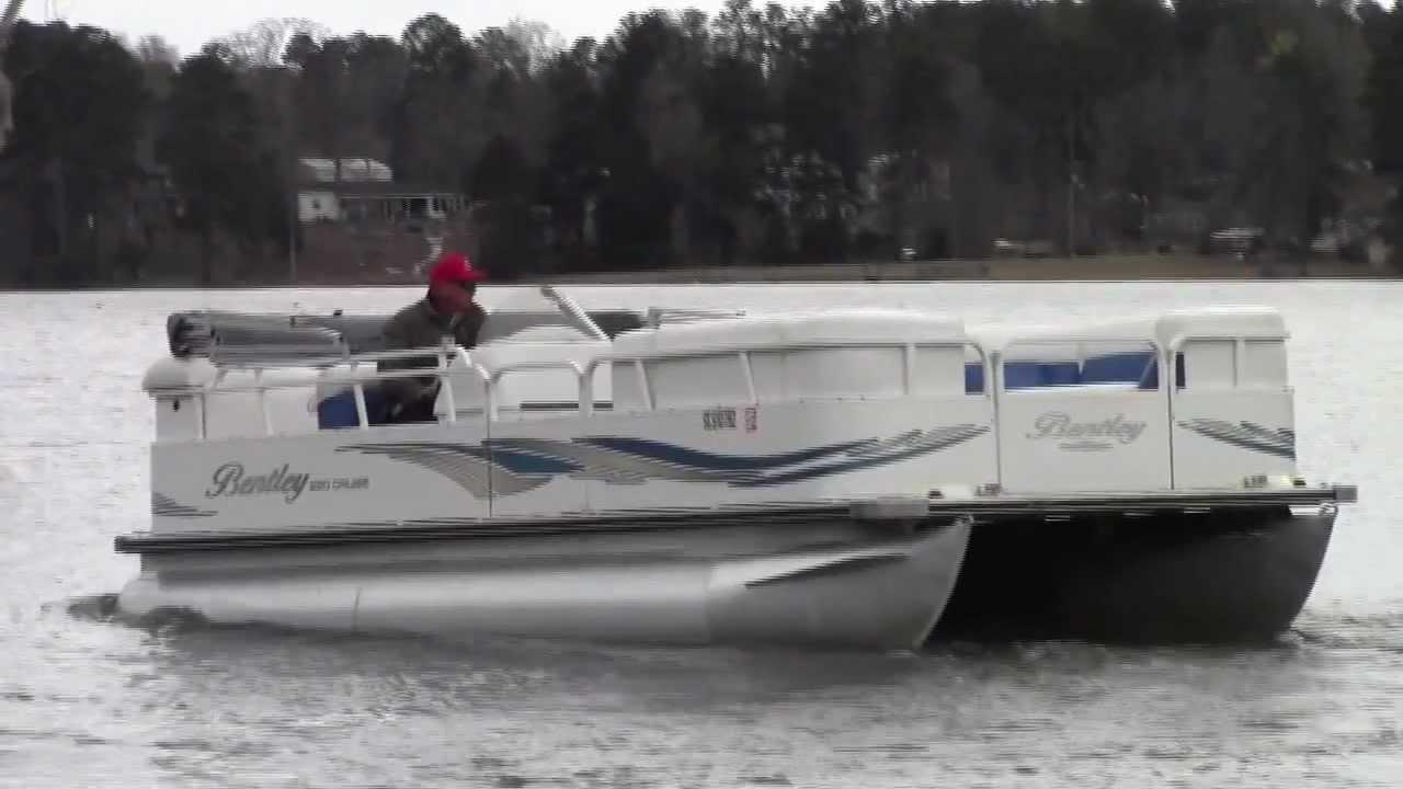 Pontoon Boat Youtube Fastest Pontoon Boat