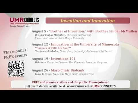 "University of Minnesota Rochester (UMR)  ""UMR Connects - Peace Plaza - August 2014"""