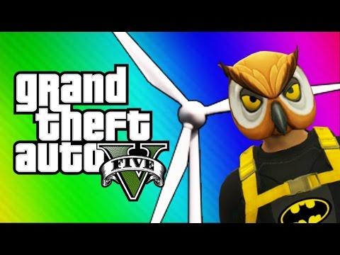 GTA 5 Online: Windmill Bridge of Death & Red vs. Blue (GTA 5 Fun Jobs)