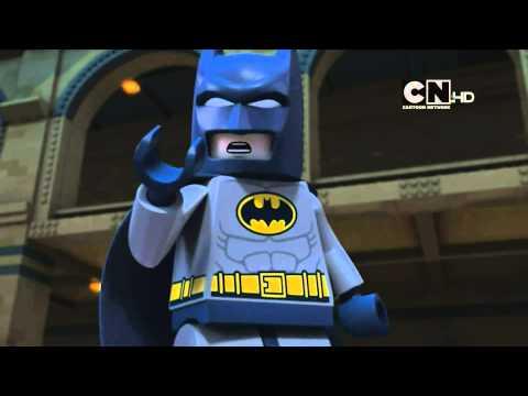 Cartoon Network UK HD DC Comics Super Heroes: Lego Batman Be-Leaguered Promo