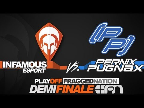 BF3 | LIVE | InFamouS [I4L] vs [pp] Pernix Pugnax - Semi-Finals Playoffs FraggedNation | PS3