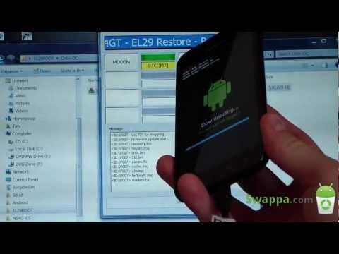 How to Root the Samsung Galaxy S II Epic 4G Touch on EL29
