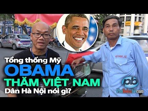 Tổng thống Mỹ Obama thăm Việt Nam: Dân Hà Nội bên bờ Hồ Gươm nói gì?