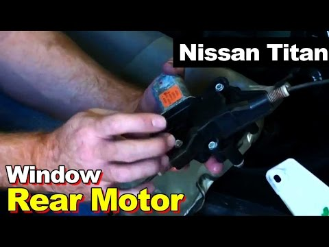 2004 nissan titan front driveshaft u joint replacement for Nissan versa window motor replacement