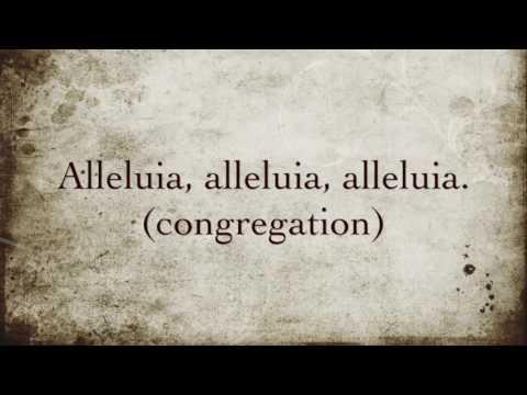 Gregorian Chant - Simple Alleluia VI