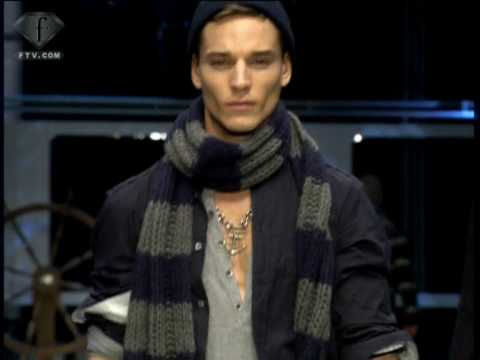 fashiontv | FTV.com - D&G FW MILAN MEN COLLECTION 06/07 Video