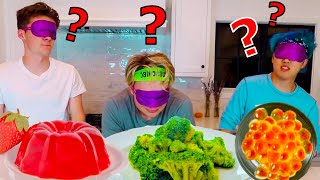 $10,000 BLINDFOLD TASTE TEST CHALLENGE!! (GONE WRONG)