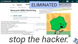 The August 20th, 2018 BFDI Wiki Raid Footage