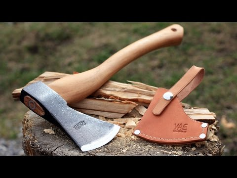 Marbles Camp Axe Review   Sheath Option!