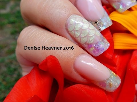 HYBRID NAIL ---------- Mixing Gel and Acrylic Together = Polygel