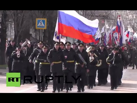 Russia: Crimea kicks off referendum anniversary celebrations