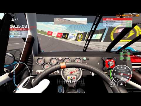NASCAR '15 Cockpit View Gameplay
