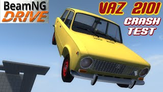 BeamNG DRIVE crash test mod VAZ 2101