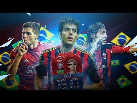 OMG INTERNATIONAL HERO iMOTM KAKA LEGENDS OF EUROPE SQUAD! FIFA 16 ULTIMATE TEAM
