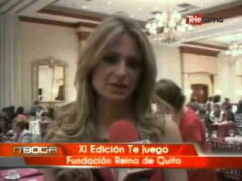 XI Edición te juego fundacion Reina de Quito