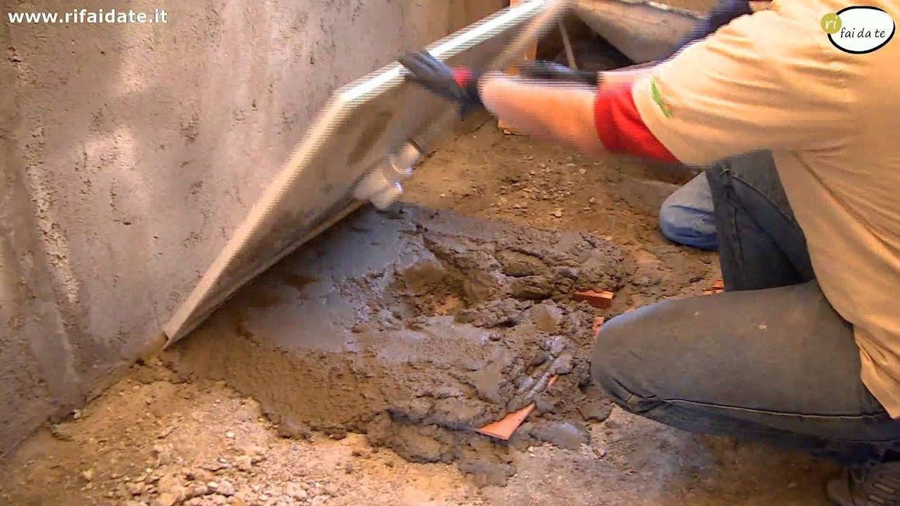 Come posare un piatto doccia youtube - Piatto doccia incassato nel pavimento ...