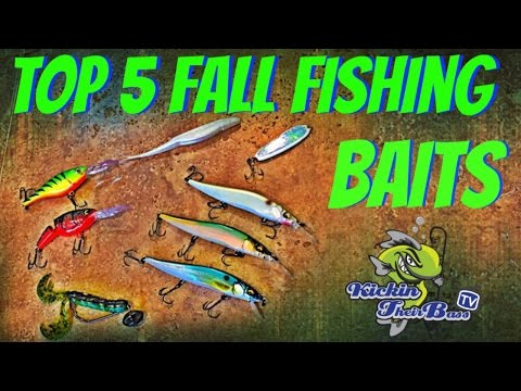 Watch top 5 bass lures best fishing lures for Fall bass fishing lures