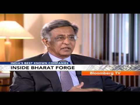 Inside India's Best Known Companies - Bharat Forge - Baba Kalyani - Growing Overseas (2/3)